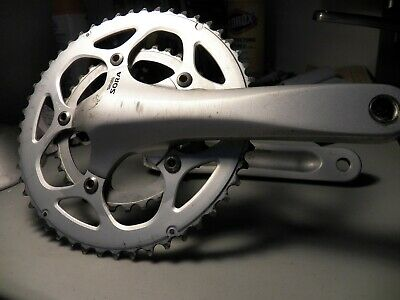 6589d3595eb Shimano Sora Silver Compact 110 BCD double 50/34t 175mm Crankset with BB  870 gms