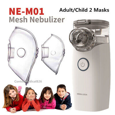 Contec Portable Mesh Nebulizer Inhalers Adult Kid Handheld Nebulisers NE-MO1 New