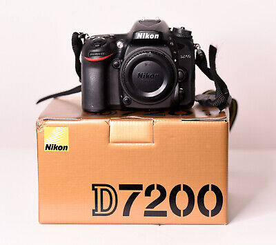 Nikon D7200 24.2 MP Digital SLR Camera (Body Only)