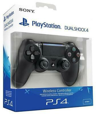 Genuine Sony PlayStation 4 PS4 DualShock Wireless Controller Version 2 - Black P