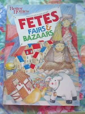 Fetes Fairs & Bazaars Book ~ Food And Crafts To Make And Sell