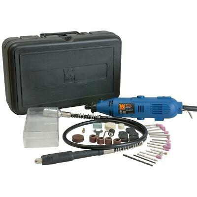 WEN Rotary Tool Kit with Flex Shaft Variable Speed Carrying Case 80 Accessories