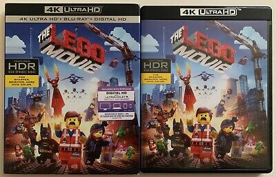 The Lego Movie 4K Ultra Hd Blu Ray 2 Disc Set + Rare Oop Slipcover Sleeve Buy It