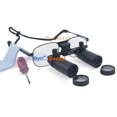 YMD 5.0X 420mm Dental Binocular Loupe Medical Surgical Magnifying Magnifier UK