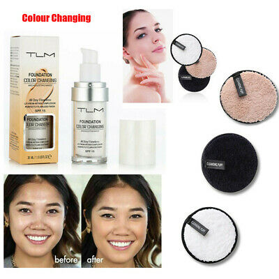 Magic Flawless Color Changing Foundation TLM Makeup Change Skin Tone Concealer