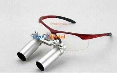 6.0X 420mm Medical Loupe Binocular Surgical Magnifier Dental Loupes Eyeglasses