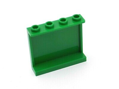 BLACK x 2 60581 LEGO Panel 1 x 4 x 3 with Side Supports P202