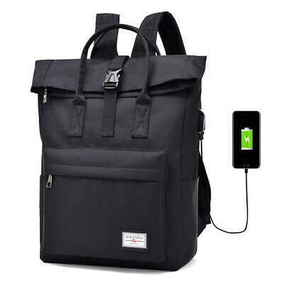 Lixada Anti-theft Backpack Business Laptop Bag Water Repellent Travel T4V3