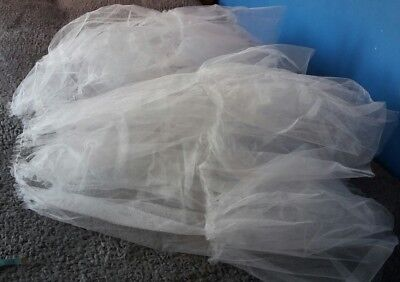 Dress Net Dancing Tutu Tulle Fancy Fairy Petticoat Mesh Bridal Fabric