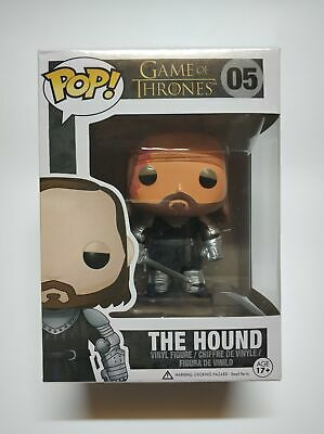 Funko Pop Game Of Thrones The Hound #5 Figure Collectable Kids Xmas Gift In Box