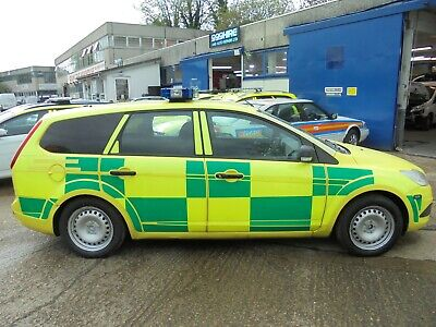 Ford Focus 115 Style Tdci Ambulance Rrv  Estate  2010 Rapid Response Car