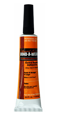 Liquid Gold Glue 1/2 oz Tube Hair Extension/Bond/Weave/Weft/ for Lace Front Wig