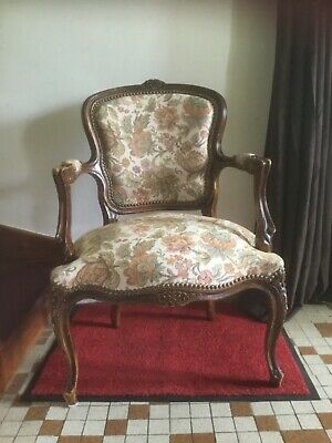 French armchair in style of Louis XV - a lot of quality for the money
