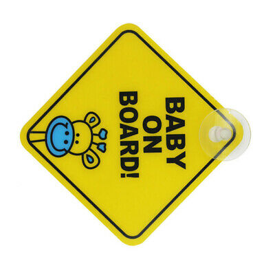 Car BABY ON BOARD WARNING SAFETY SIGN Sticker Vinyl Decal for car vehicle window