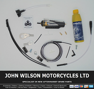 Honda CB 125 T Twin 1978 Scottoiler Chain Lubrication System
