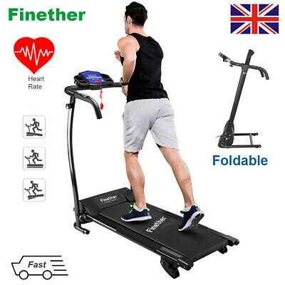 TREADMILL Bluetooth Electric Motorised Folding Jogging Fitness Machine Home H&R