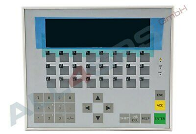Siemens Operator Panel Op17/Dp Lc-Display, 6Av3617-1Jc20-0Ax1 Ref.