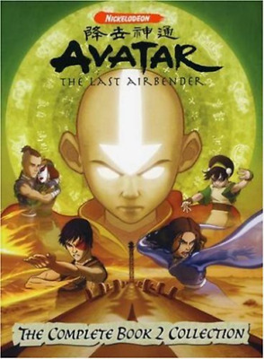 Avatar: The Last Air-Avatar Last Airbender Book 2 Box Set Dvd Nuovo