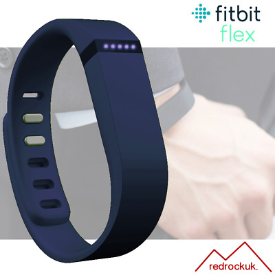 Fitbit Flex Fitness Activity Tracker Pedometer - Purple - Small & Large Straps