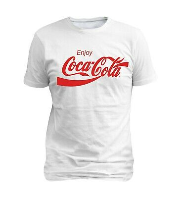 Coca Cola Enjoy Logo Men Summer T-shirt