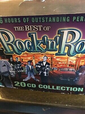 The Best of Rock 'n' Roll..20 CDs of original Hits from Various Famous Artists