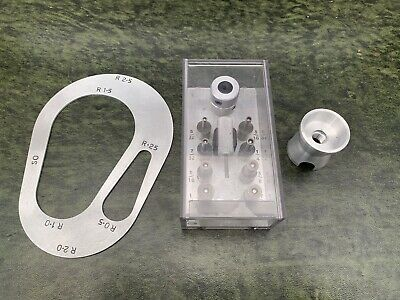 Aircraft Tools Sheet Metal/Structures Rad Gauge,Egg Cup & Drill Bush Set New
