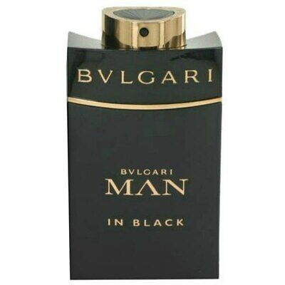Profumo Uomo Bulgari Man In Black 100 Ml Edp 3,4 Oz 100Ml Bvlgari Homme Men Eau