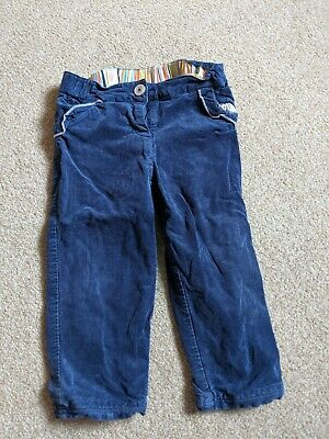 Girls Designer Paul Smith Corduroy Trousers Age 18 Months