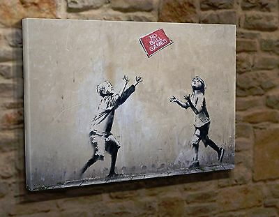 Extra Large Canvas Wall Art Picture Print Banksy CC35