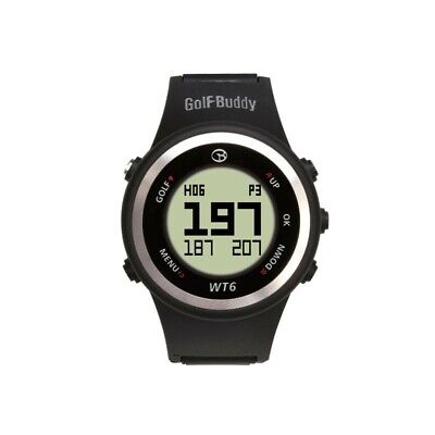 Golf Buddy Wt6 Gps Rangefinder Watch Preloaded 38000+ Courses