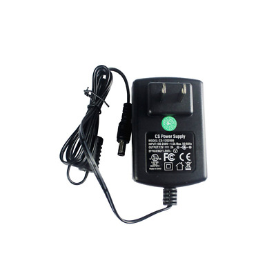 HQRP 12V 2A Waterproof Power Supply AC to DC Adapter for