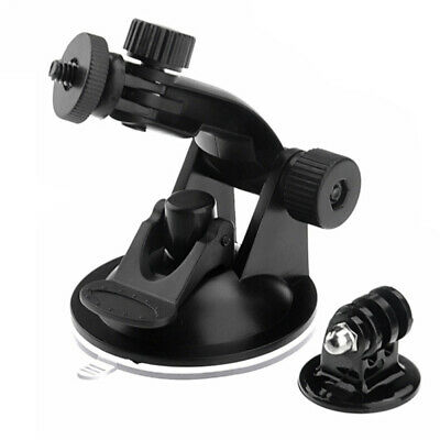 Car Windshield Vacuum Suction Cup Mount + Tripod Adapter For GoPro Hero 5  FKL