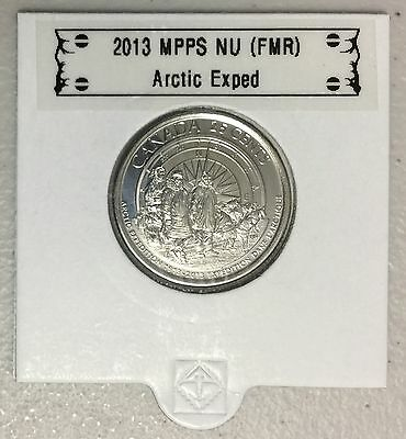 CANADA 2013 New 25 cents Arctic Expedition (BU directly from mint roll)