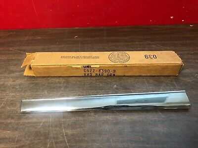 1964 1/2 1965 Mustang Rh Grille Ornament Bar Nos 619
