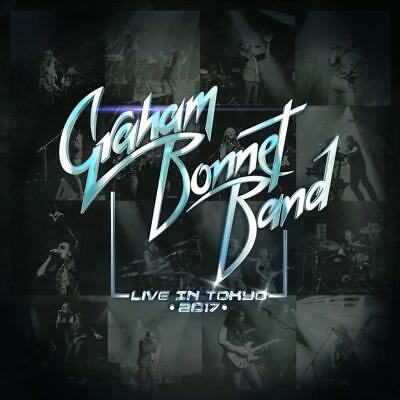 Graham Bonnet Band Live In Tokyo 2017 (Cd/Dvd)  NEW(10TH JULY)