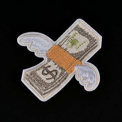 Embroidered  Remover Repellent Iron On Sew On Patch Badge Fabric Applique JB