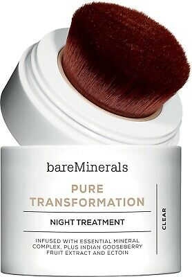 bare minerals Pure Transformation Night Treatment Clear Skinsorials