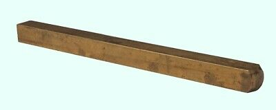 "Brass Square Stock  1/4"" x 1/4"" x 3 Ft   Alloy 360  Mill Finish  Solid 3' Bar"