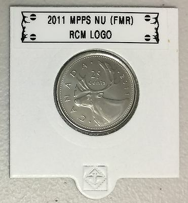 CANADA 2011 New 25 cents (BU directly from mint roll)