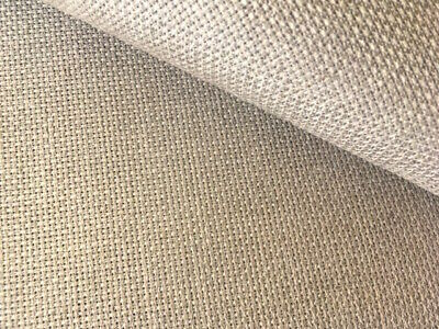 Natural Linen 18 Count Zweigart Aida cross stitch fabric - various size options