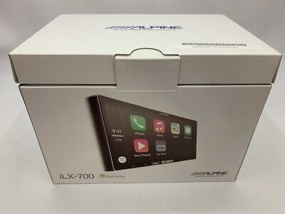 "ALPINE ILX-700 - 7"" In-Dash Digital Media Stereo with Apple CarPlay **OPENBOX**"