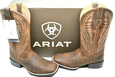 634972444 Ariat Men's Sport Stonewall Native DISTRESSED Brown Western Boots 10023145  ...