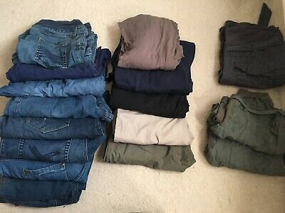 Bundle Of Maternity Trousers Size 14-16
