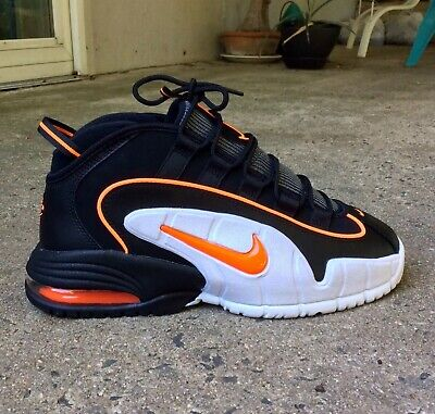 e08b0c90e1 Nike Air Max Penny Mens Size 8 / Black-Total Orange / 685183 002 /
