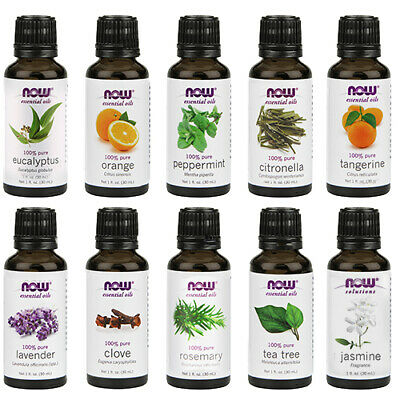 NOW Foods Essential Oil, 1 Fluid Ounce