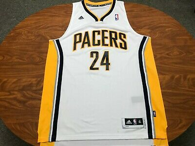 lowest price d52c6 49361 MENS AUTHENTIC 2013 Adidas Indiana Pacers Paul George Basketball Jersey  Size Xl