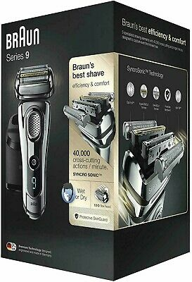 Braun Series 9 Electric Shaver for Men 9296cc, Wet and Dry,Fathers Day Special