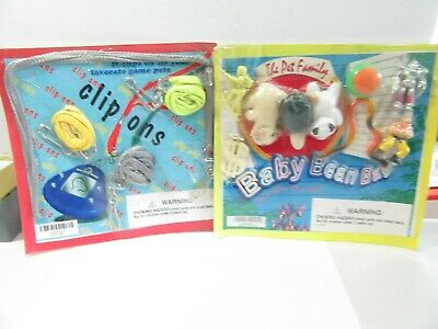 Lot Of Two Header Cards Display Vending Gumball Machines Vintage Baby Beanies