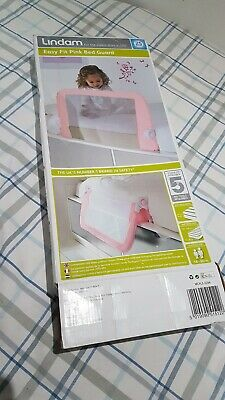 Lindam Easy Fit Bed Guard - Pink (051512)