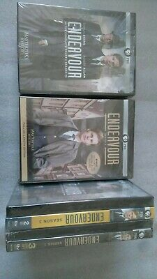 Endevour  ITV Crime Series 1-4 DVD New/Sealed Free Postage